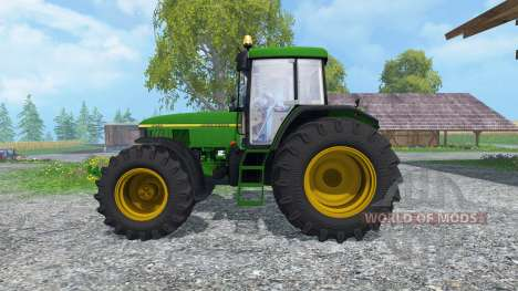 John Deere 7810 v2.0 for Farming Simulator 2015