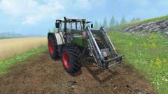 Fendt Favorit 515C FL for Farming Simulator 2015