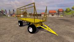 Yellow trailer for Farming Simulator 2013