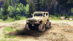 Suzuki Samurai LJ880 dirty desert tan for Spin Tires
