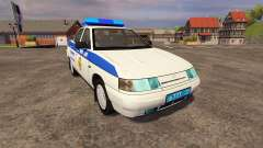 VAZ 2110 Police for Farming Simulator 2013