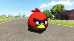 Red bird (red) Angly Bird for BeamNG Drive