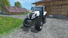 New Holland T8.435 Ultra White for Farming Simulator 2015