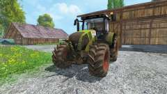 CLAAS Axion 820 v4.0 dirt