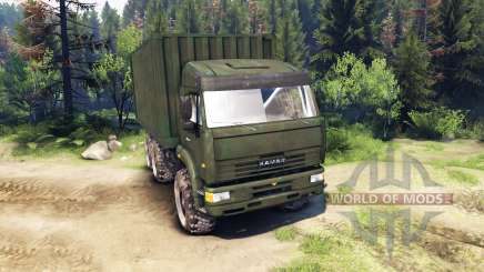 KamAZ GAS 6x6 for Spin Tires