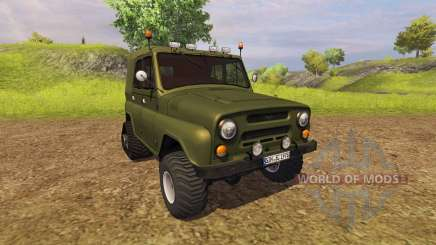 UAZ 469 for Farming Simulator 2013