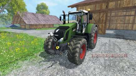 Fendt 828 Vario full script for Farming Simulator 2015