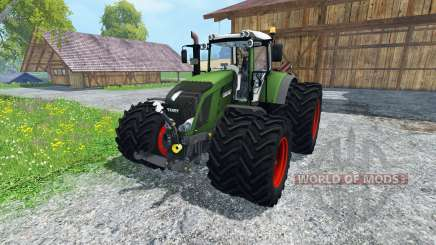 Fendt 828 Vario Twin Wheels for Farming Simulator 2015
