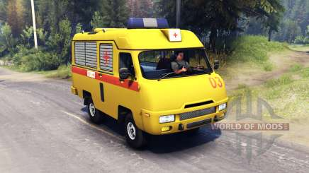 UAZ 2925 CARS for Spin Tires
