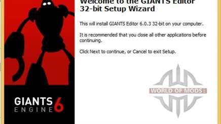 GIANTS Editor v6.0.3 x86 for Farming Simulator 2015