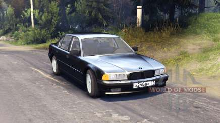 BMW 750Li E38 for Spin Tires