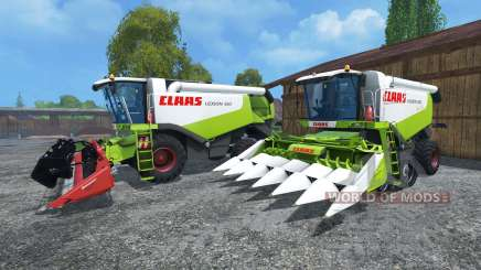 CLAAS Lexion 550 и 560TT for Farming Simulator 2015