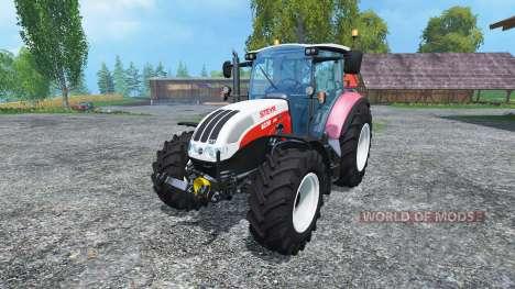 Steyr CVT 6230 Ecotech v1.4 for Farming Simulator 2015