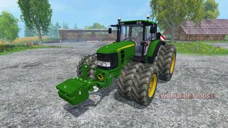 John Deere 6830 Premium FL for Farming Simulator 2015