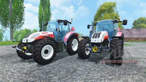 Steyr CVT 6230 Pack v1.4 for Farming Simulator 2015