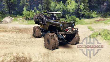Jeep Willys camo for Spin Tires