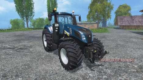 New Holland T8.435 v2.3 for Farming Simulator 2015