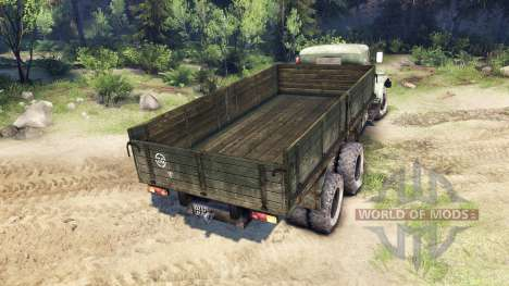 KrAZ-257 PJ1 for Spin Tires