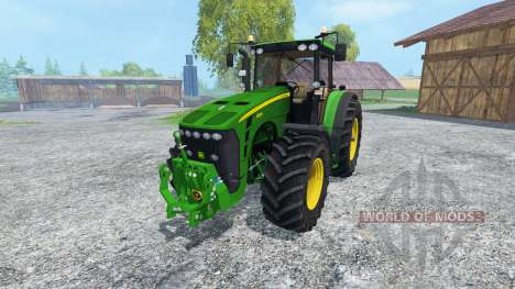 John Deere 8530 v2.0 for Farming Simulator 2015