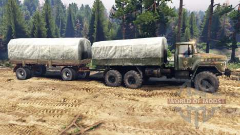 KrAZ-260 v2.0 for Spin Tires
