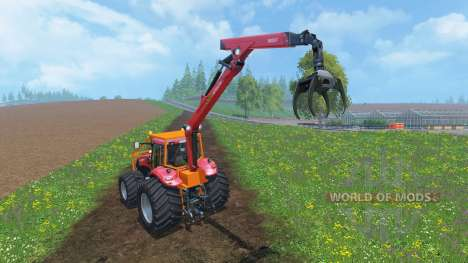 Case IH Magnum CVX 380 Forestry v2.0 for Farming Simulator 2015