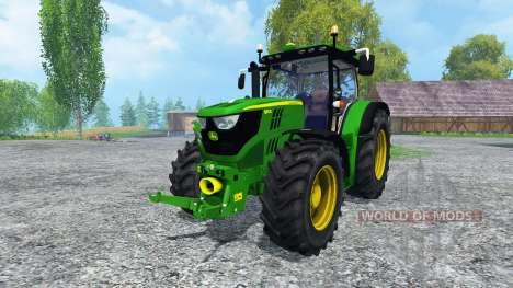 John Deere 6150R FL for Farming Simulator 2015