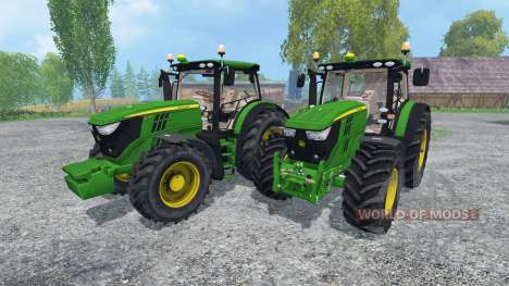 John Deere 6170R and 6210R v2.0 for Farming Simulator 2015