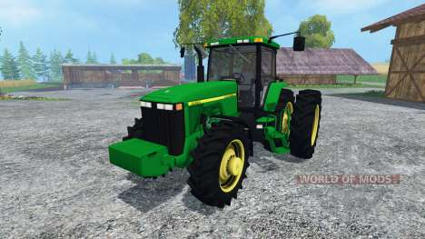 John Deere 8400 v3.0 for Farming Simulator 2015