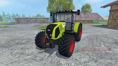 CLAAS Axion 850 for Farming Simulator 2015