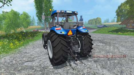 New Holland T8020 Maulwurf Edition for Farming Simulator 2015