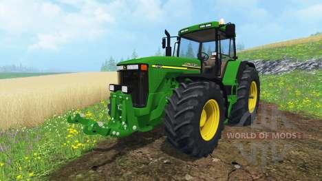 John Deere 8110 for Farming Simulator 2015