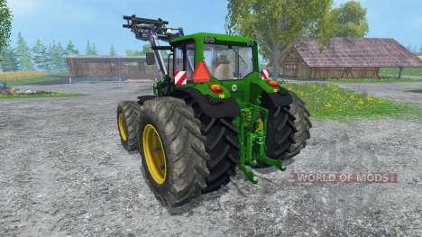 John Deere 6830 Premium FL v2.0 for Farming Simulator 2015