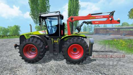 CLAAS Xerion 5000 Forest Edition for Farming Simulator 2015