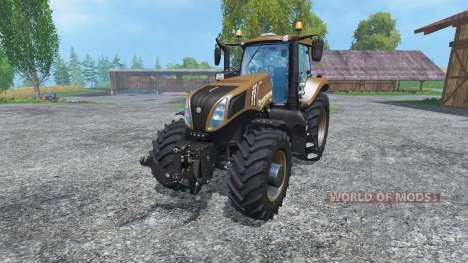 New Holland T8.435 Color Choice v2.0 for Farming Simulator 2015
