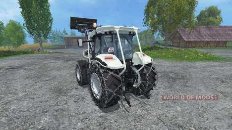 Steyr Multi 4115 Ecotronik v3.0 for Farming Simulator 2015
