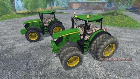 John Deere 6170R and 6210R for Farming Simulator 2015