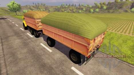Agricultural trailer for Farming Simulator 2013