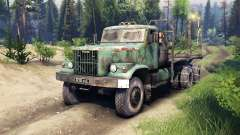 KrAZ-257 PJ2 for Spin Tires