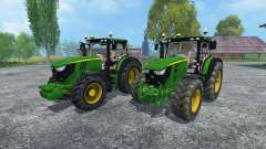 John Deere 6170R and 6210R for Farming Simulator 2015