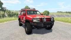 Toyota Land Cruiser 100 v2.0 for BeamNG Drive