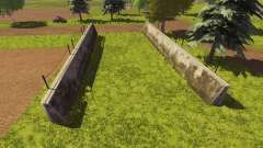 Silage pit purchased for Farming Simulator 2013