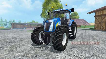 New Holland T8020 v2.0 for Farming Simulator 2015