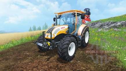 Steyr Multi 4115 hydromanipulator for Farming Simulator 2015