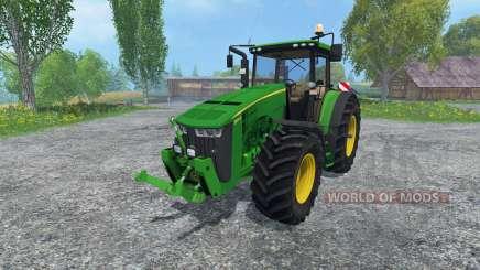 John Deere 8370R v2.0 for Farming Simulator 2015