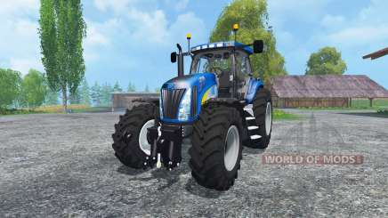 New Holland T8020 Maulwurf Edition for Farming Simulator 2015