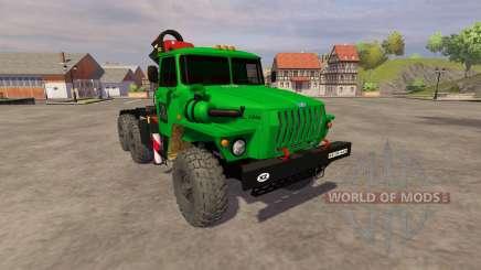 Ural-5557 crane green for Farming Simulator 2013