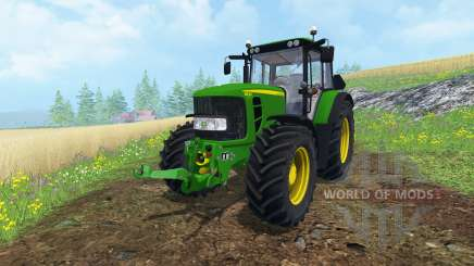 John Deere 6830 Premium FL v2.0 for Farming Simulator 2015