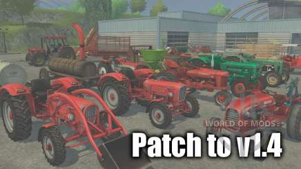 Patch to version 1.4 for Farming Simulator 2013