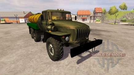 Ural-4320 milk for Farming Simulator 2013