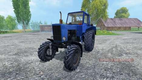 MTZ-82 v2.0 for Farming Simulator 2015